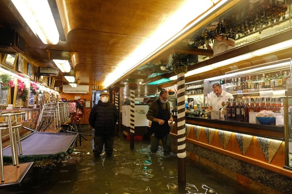 Venedik'te yine su baskını: Milyar dolarlık proje işe yaramadı - 4
