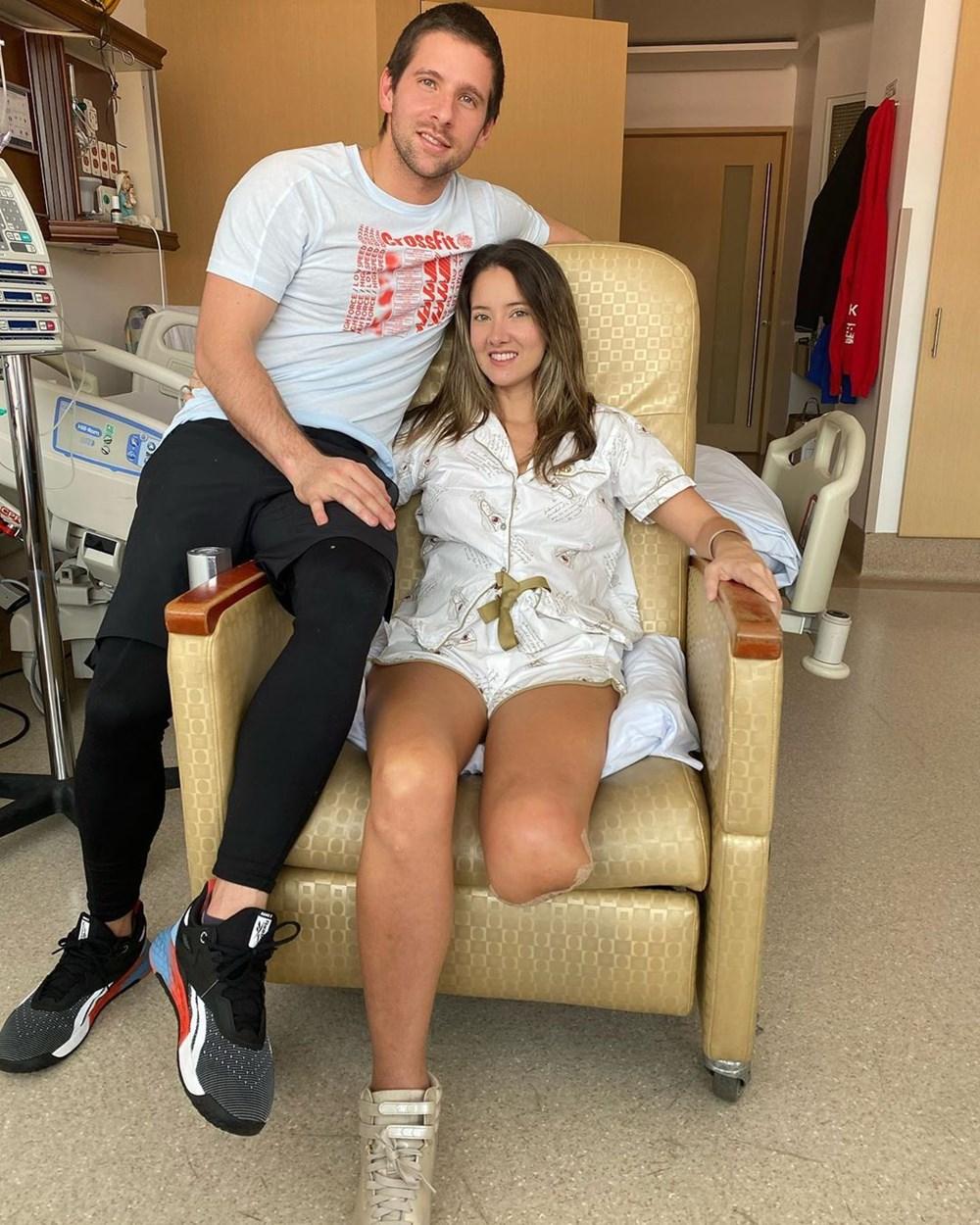 Eski Kolombiya Güzeli  Daniella Alvarez'in bacağı kesildi - 2