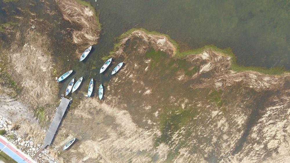 Beyşehir Gölü alarm veriyor: 50 metre çekildi - 9