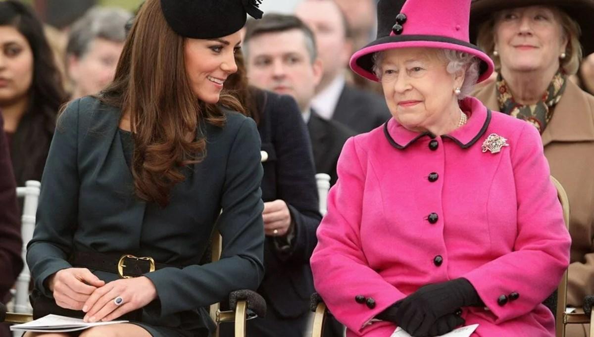 'Kraliçe Elizabeth, Kate Middleton'ı geleceğin kraliçesi olarak görüyor'