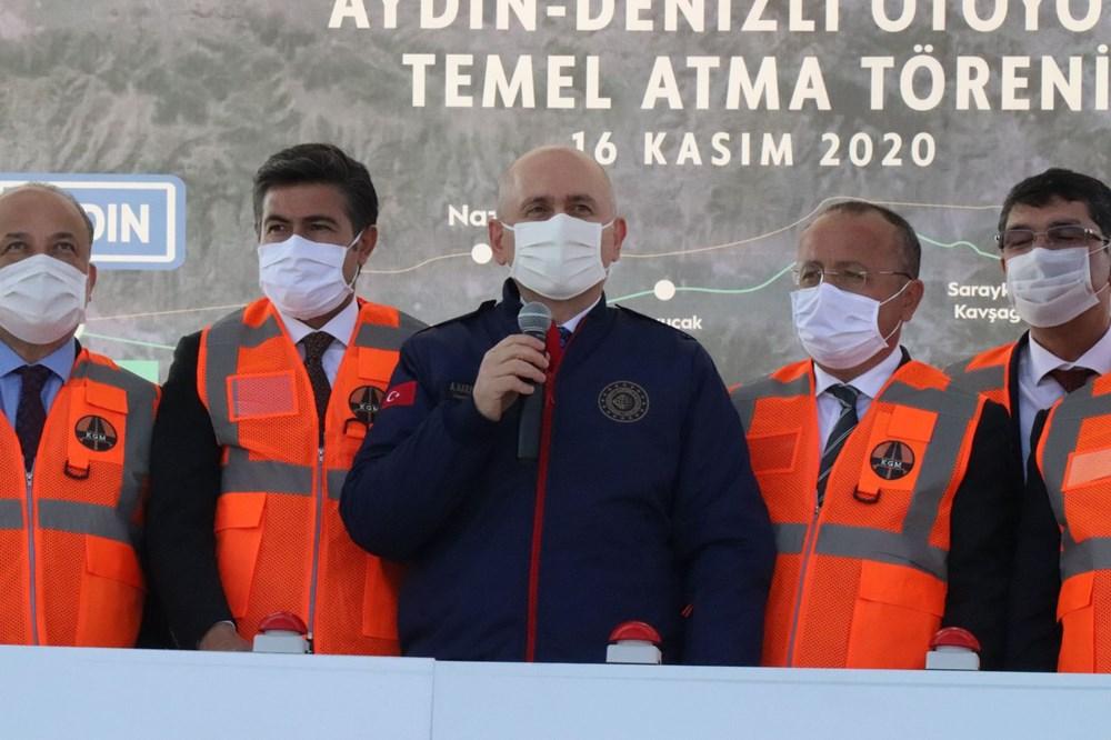 Bakan Karaismailoğlu: Aydın-Denizli Otoyolu seyahat süresini 1 saat 15 dakikaya düşürecek - 4
