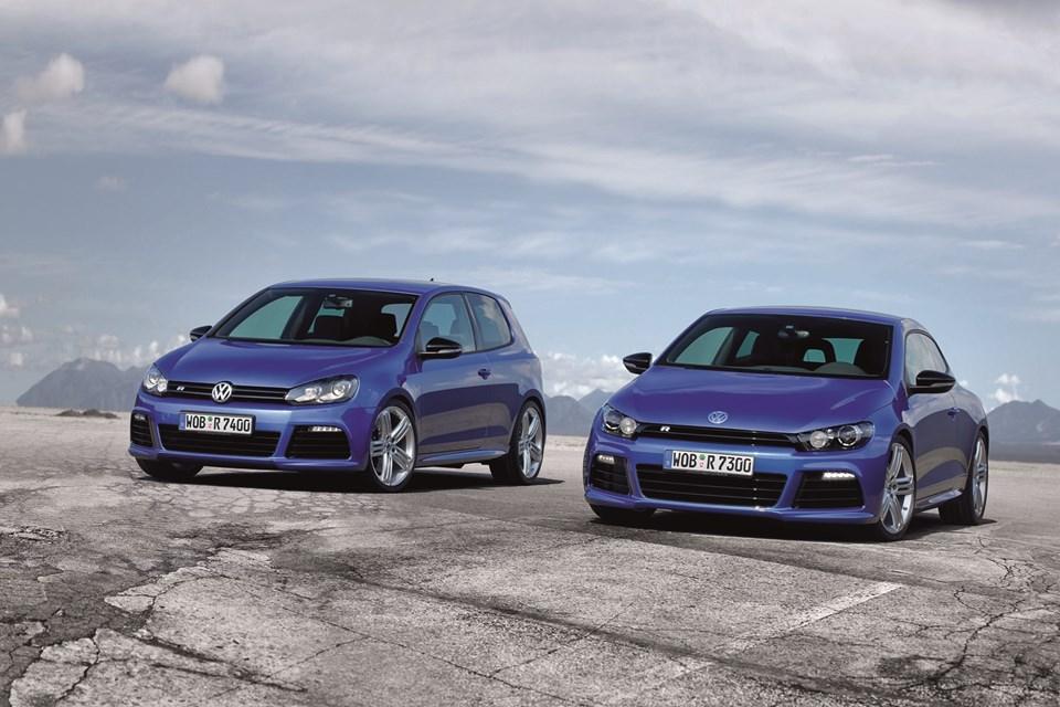 Volkswagen Golf R ve Scirocco R