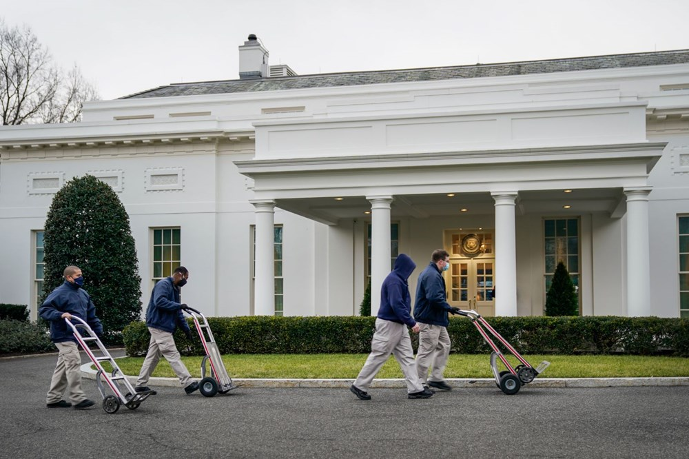 Trump Ailesi Beyaz Saray'dan taşınıyor - 3