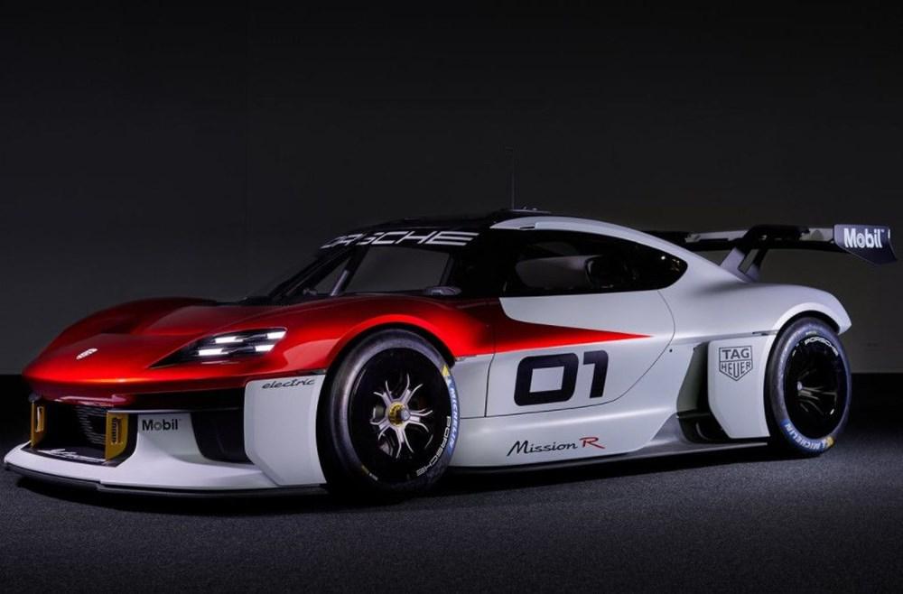 Porsche Mission R Konsepti tanıtıldı: Elektrikten gelen 1.088 beygirlik güç - 12