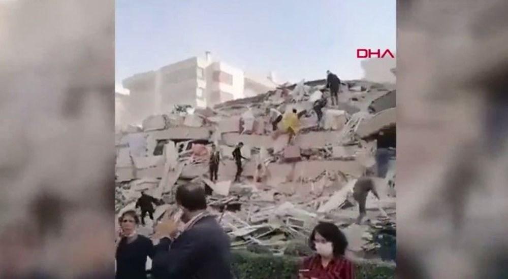 Son Deprem: İzmir'deki 6.6'lık depremden kareler - 9
