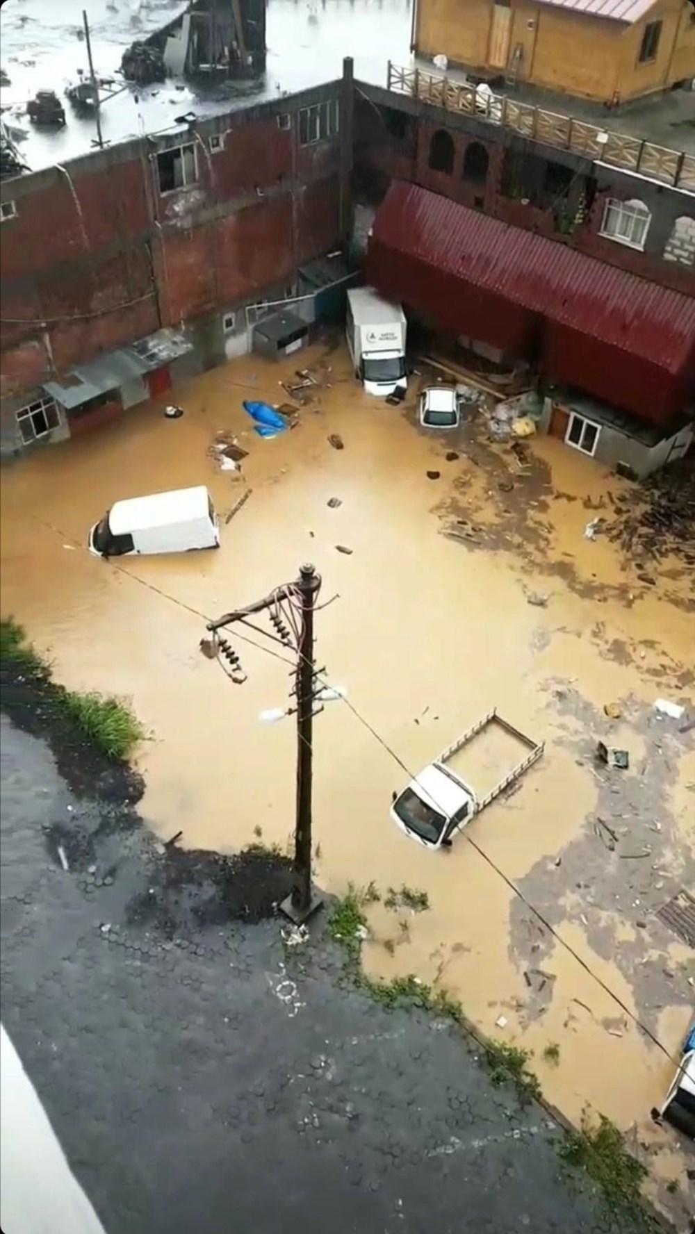 Şiddetli yağış Rize'yi de vurdu: 2 can kaybı - 7