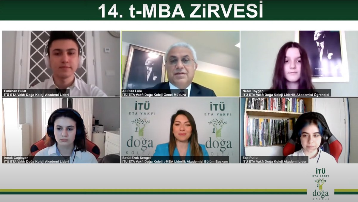 14. t-MBA Zirvesi'nde geleceğin liderleri, iş dünyasının liderleriyle buluştu
