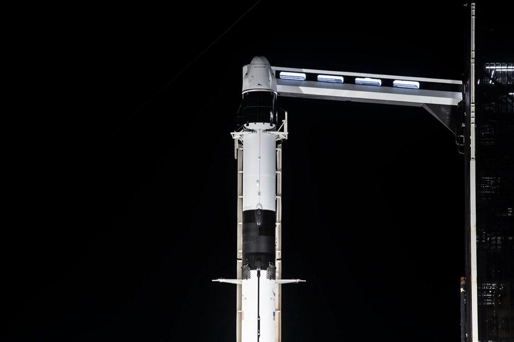 NASA'nın kargo gemisi istasyona kenetlendi - 11