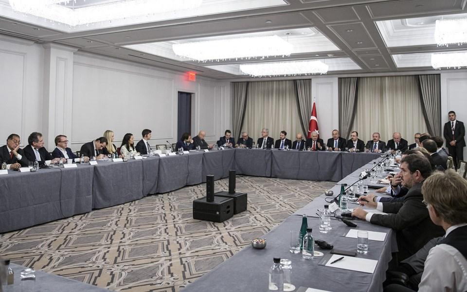 Başbakan Yıldırım finans kuruluşlarının temsilcileriyle bir araya geldi.