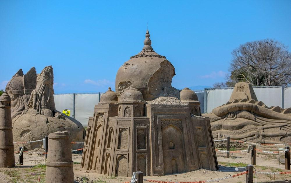 Atlantis, kum heykellerle canlanacak - 6