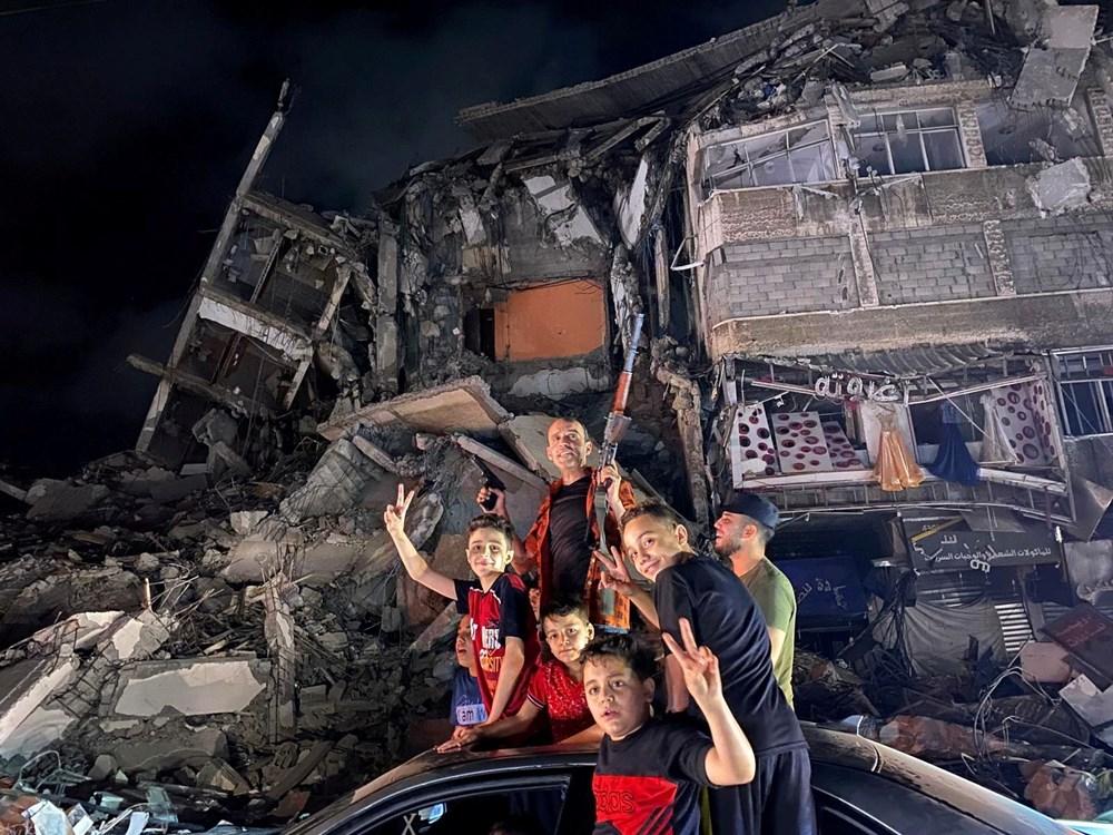 """Gazze ve Batı Şeria'da """"ateşkes"""" sevinci - 5"""