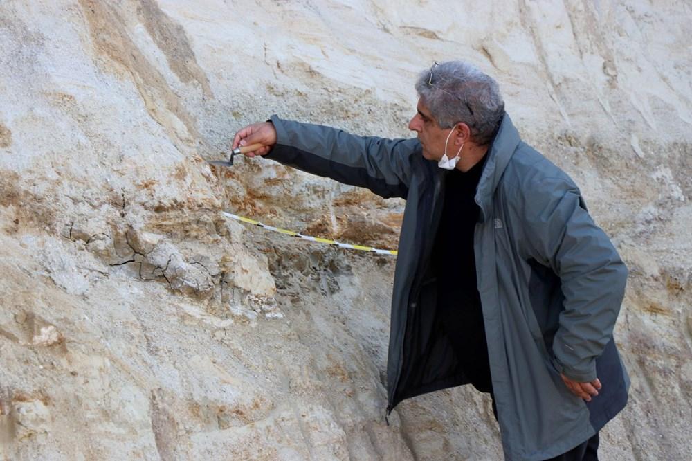 Edirne'de 8 milyon yıllık mamut fosilleri bulundu - 13