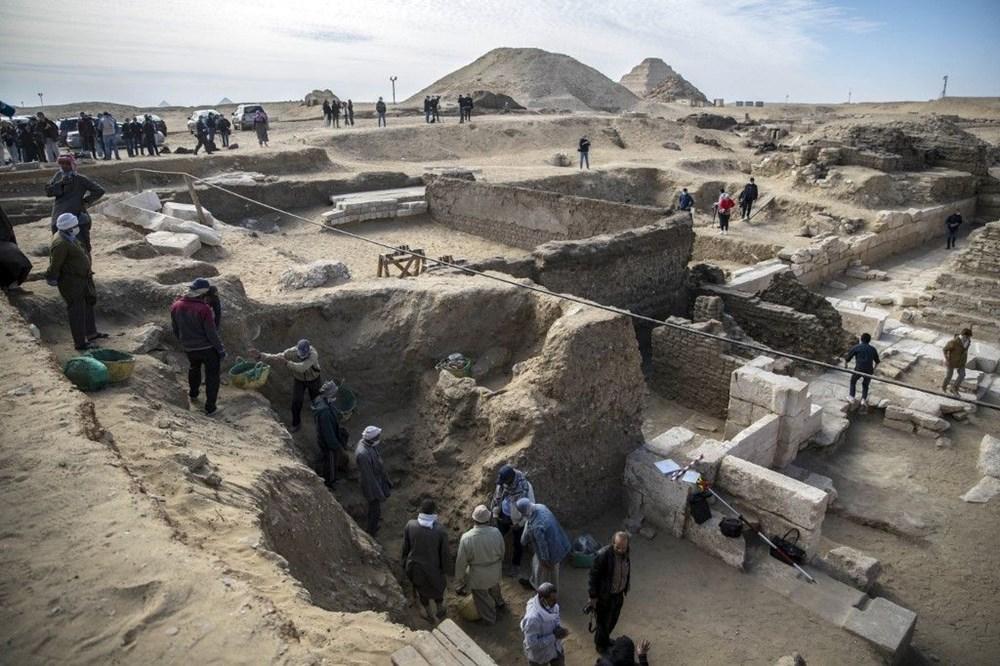 Mısır'ın Saqqara nekropolünde 3 bin 500 yıllık keşif: Kraliçe Naert'in cenaze tapınağı bulundu - 2