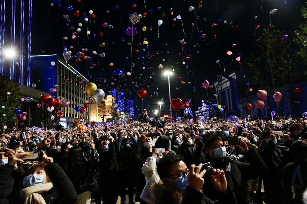 Wuhan'da yeni yıl kutlamaları - 3