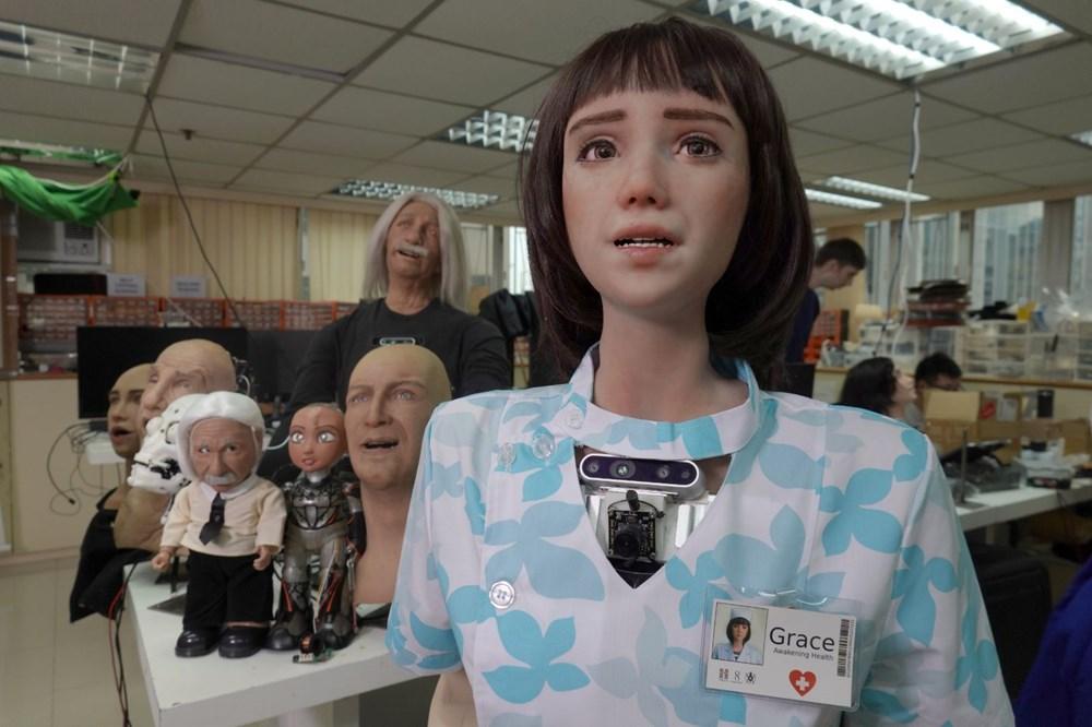 Robot Sophia'ya kardeş geldi: Robot hemşire Grace - 1