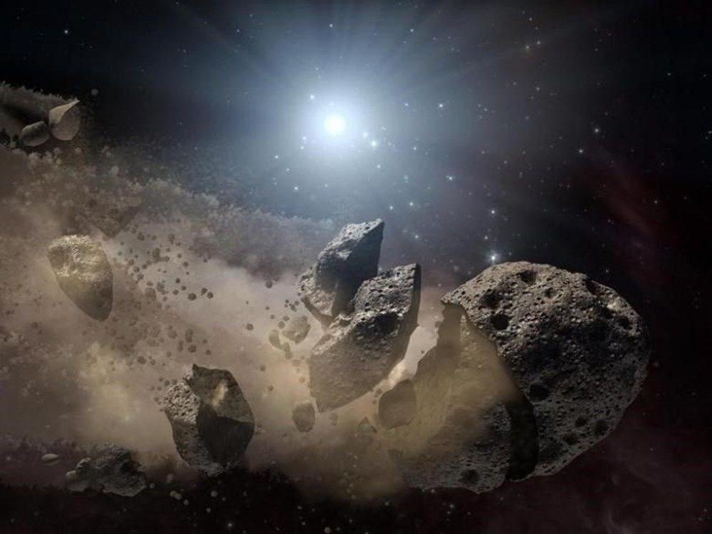 NASA'dan göktaşı açıklaması (2 saat arayla Dünya'yı teğet geçti) - 2