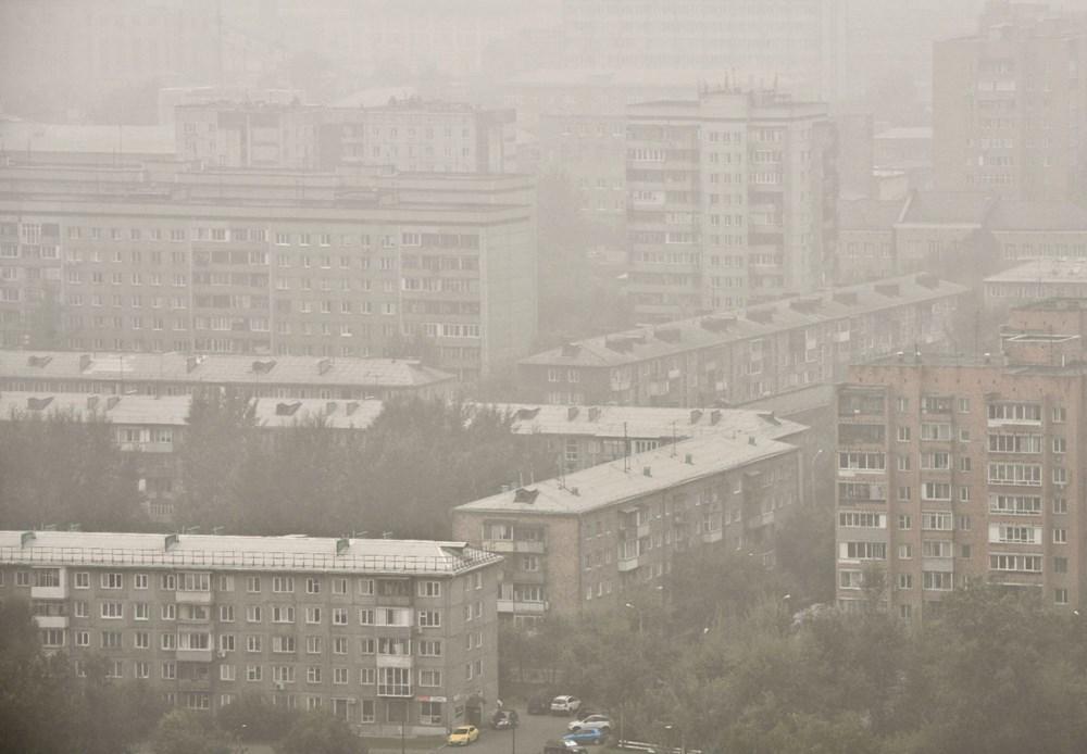 NASA duyurdu: Sibirya'daki yangınların dumanları tarihte ilk kez Kuzey Kutbu'na ulaştı - 7