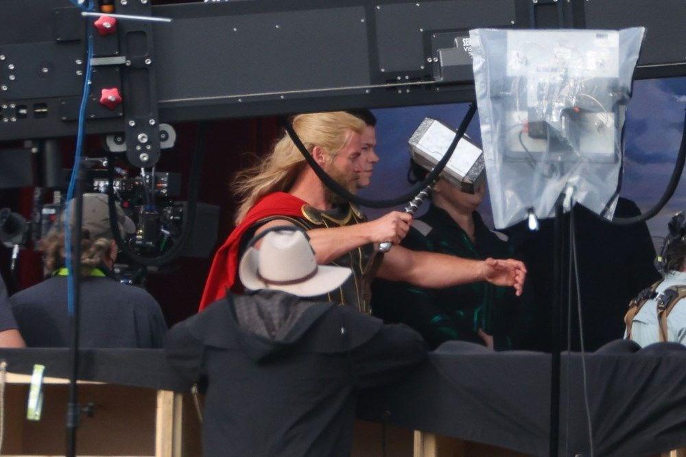 Thor: Love  Thunder'dan yeni set görüntüleri - 11