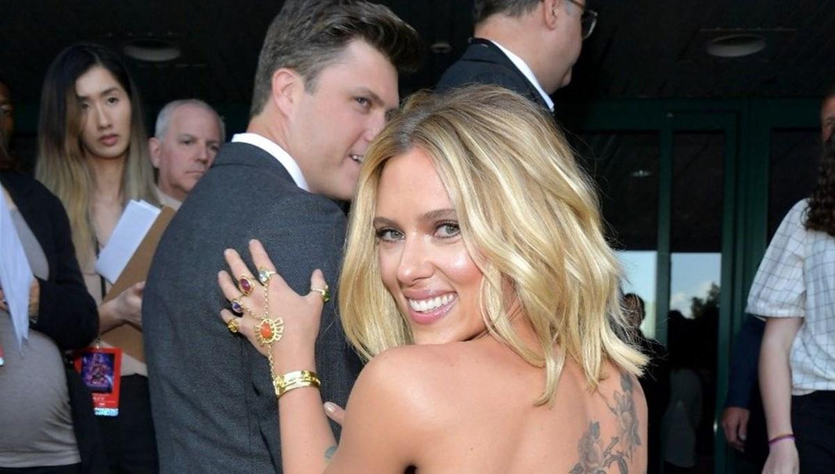 Scarlett Johansson ikinci çocuğunu dünyaya getirdi