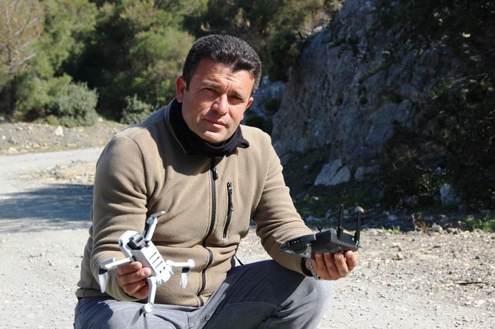Bodrum'un drone'lu çobanı: Adım adım izliyor - 9