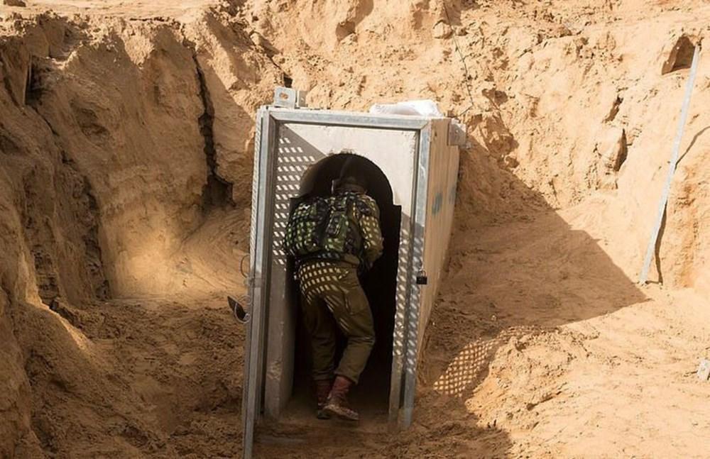 Hamas'ın Gazze'de kullandığı tüneller görüntülendi: İsrail'in hedefinde - 25