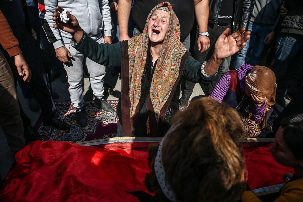 Hain saldırının küçük kurbanları: Cenazede gözyaşları sel oldu - 20