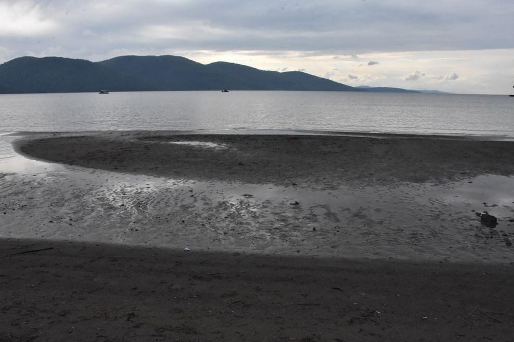 Muğla'da deniz suyu 40 metre çekildi - 13