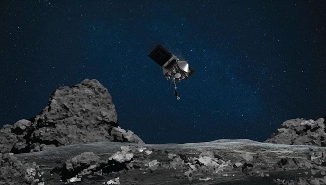 NASA'nın uzay aracı topladığı göktaşı örneklerini Dünya'ya getirecek kapsüle yerleştirdi