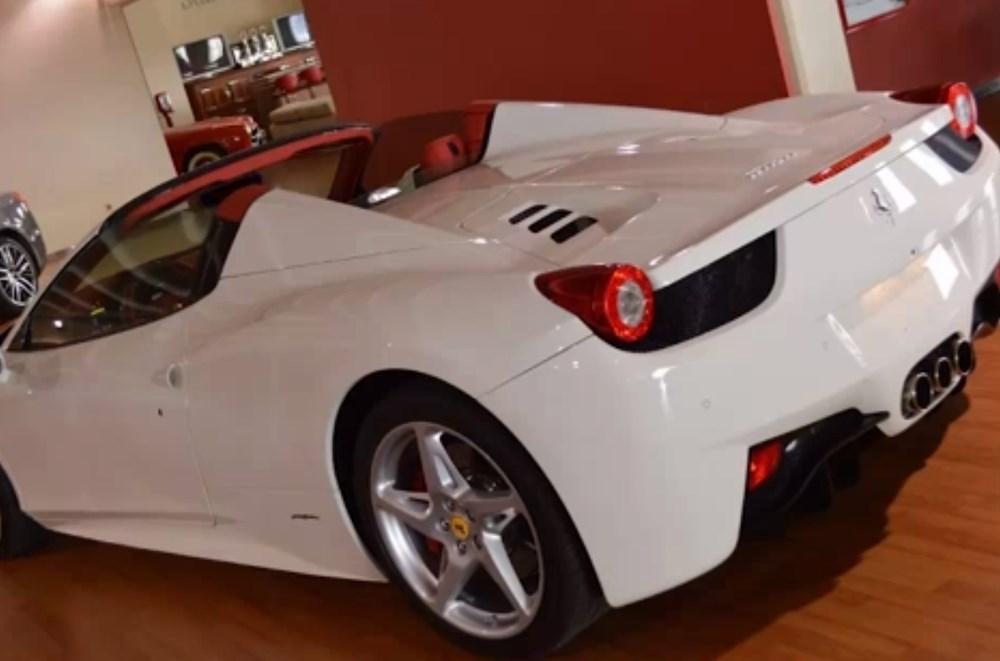Tosuncuk'un Uruguay maceraları 3: Başını yakan Ferrari'nin görüntüleri ortaya çıktı - 2