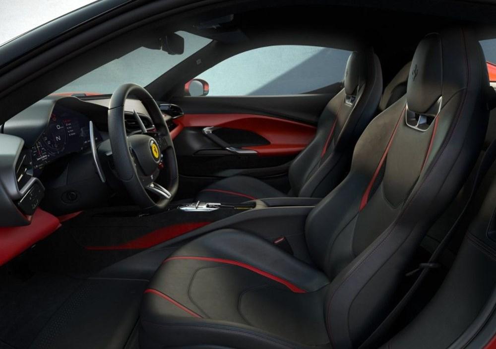 830 beygirlik hibrit Ferrari 296 GTB tanıtıldı - 8