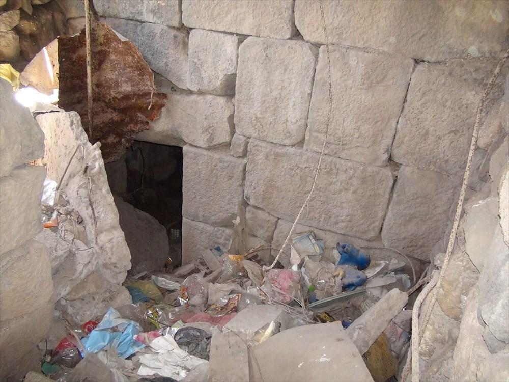 Şanlıurfa'da izinsiz kazıda Roma dönemine ait zindan gün yüzüne çıktı - 9