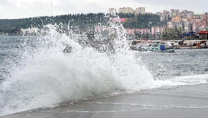 Meteoroloji'den Ege Denizi için fırtına uyarısı