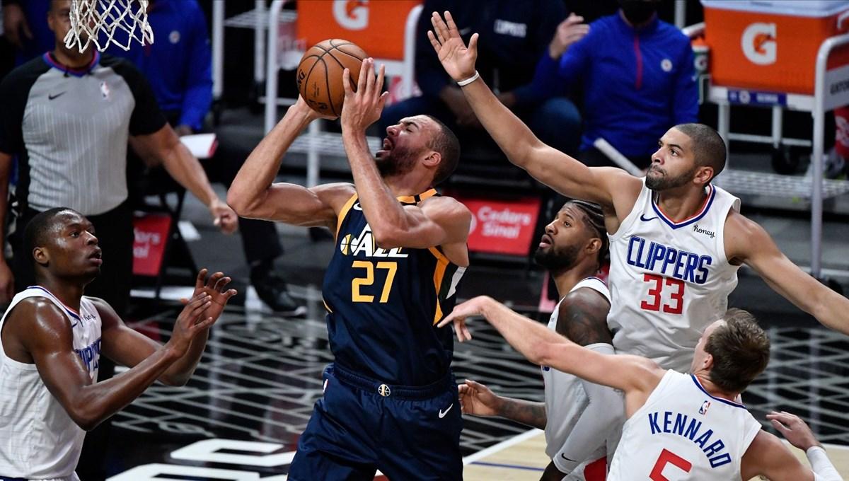 Utah Jazz'dan Fransız pivot Rudy Gobert'e rekor kontrat