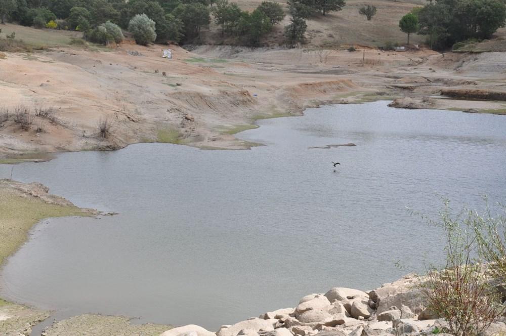 Efir Göleti'inde su seviyesi yüzde 80 azaldı - 6