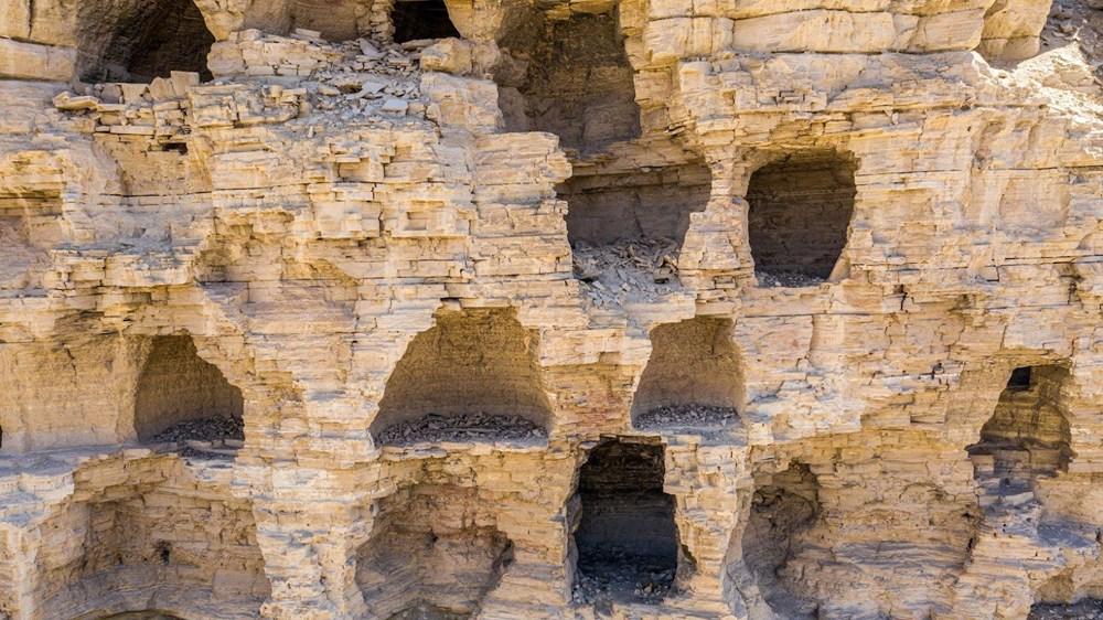 Sivas'ın 4 bin yıllık Hititler dönemi 'apartman mağaraları' ilgi çekiyor - 7