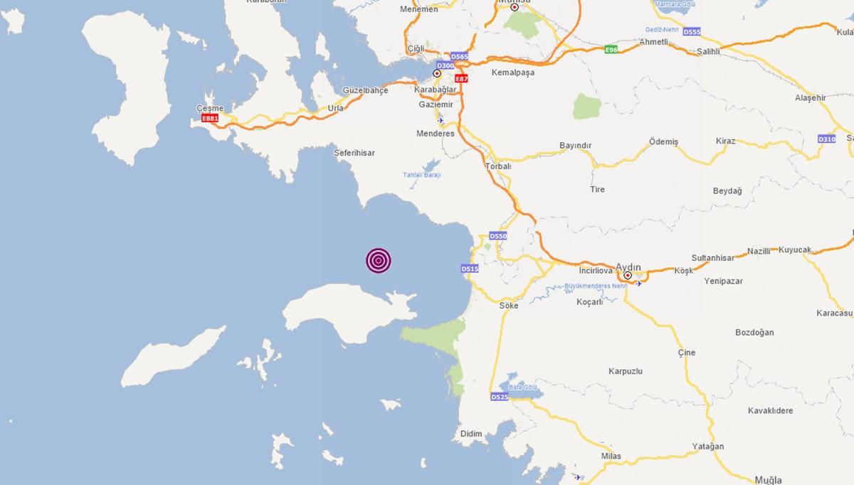 SON DAKİKA HABERİ: İzmir, Seferihisar açıklarında 4,1 büyüklüğünde deprem