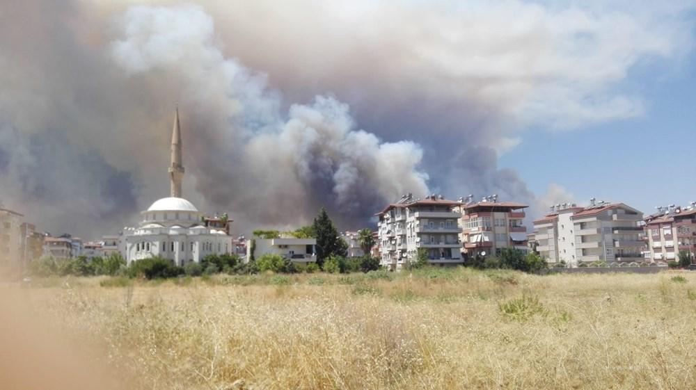 Antalya Manavgat'ta büyük yangın - 5