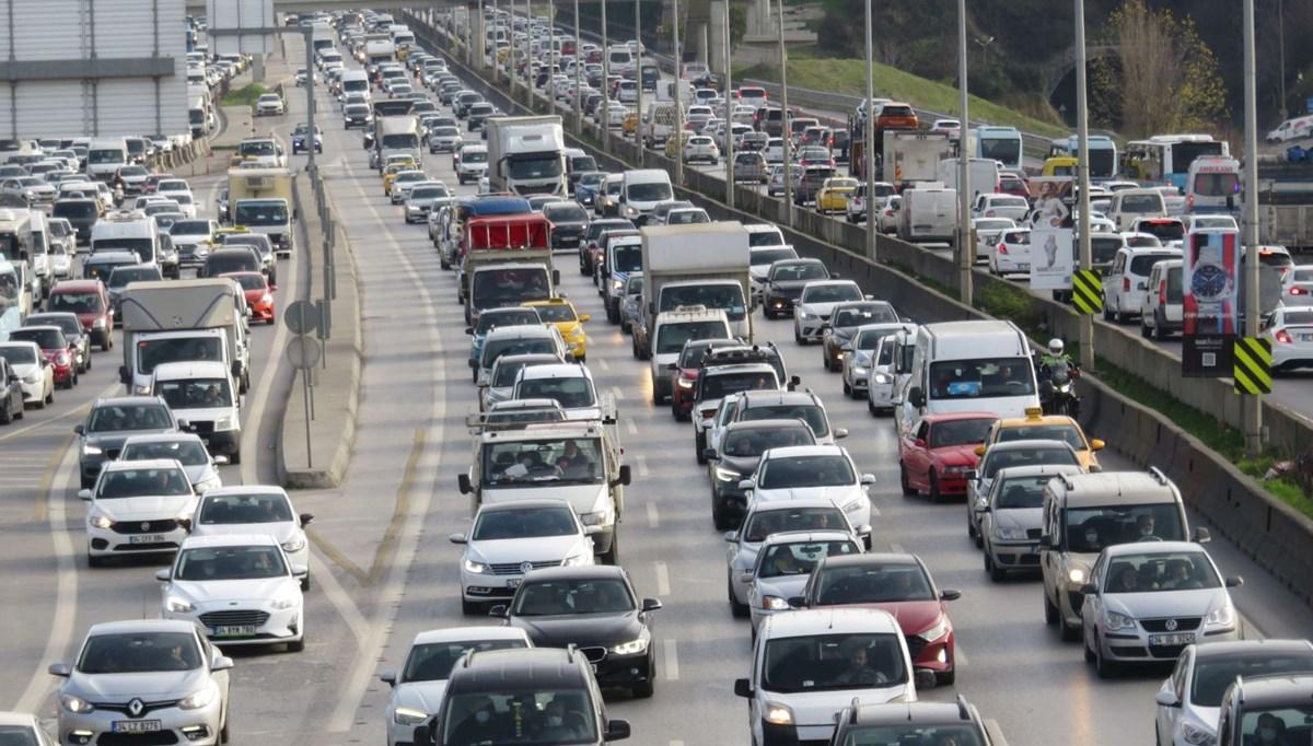 Trafiğe kaydı yapılan taşıt sayısı yüzde 10,3 azaldı