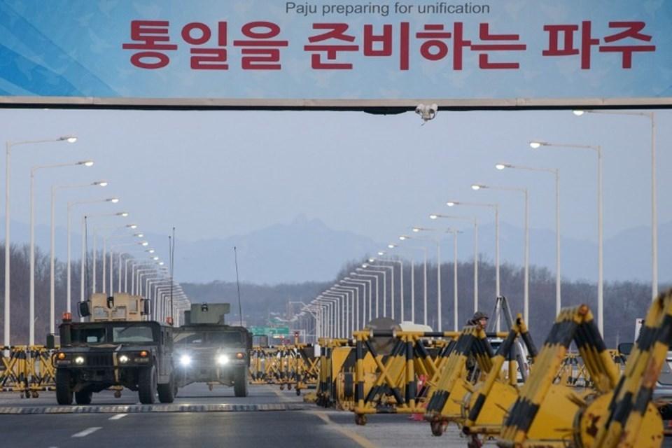 Kuzey Kore'nin hidrojen bombası denemesi sonrası Güney Kore ile ilişkiler yeniden gerilmişti.