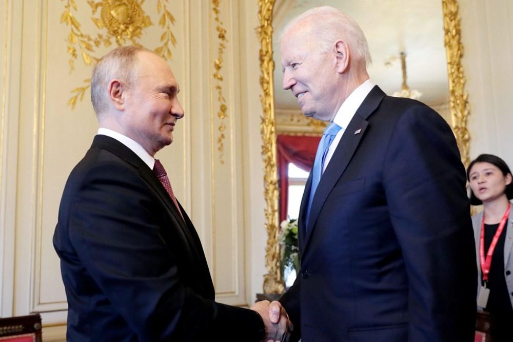 ABD Başkanı Biden ve Rus Devlet Başkanı Putin'in görüşmesi başladı: Zirveden kareler - 11