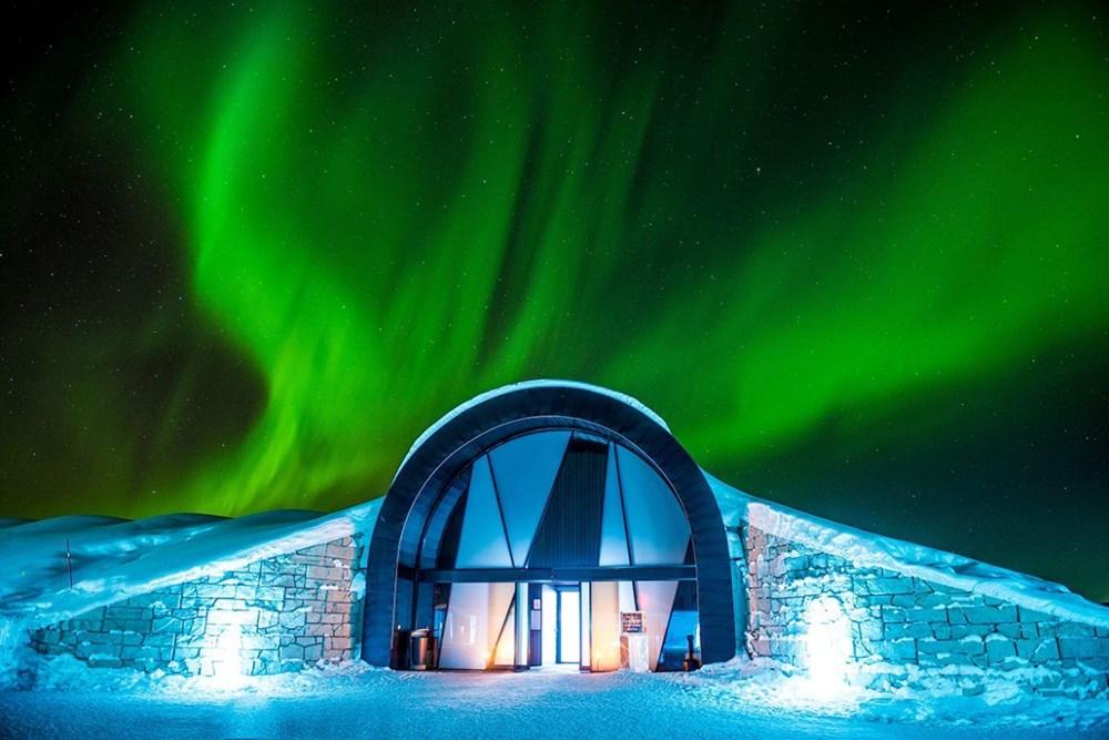 buz oteller, igloo oteller, ilginç konaklama deneyimleri, Kış tatili