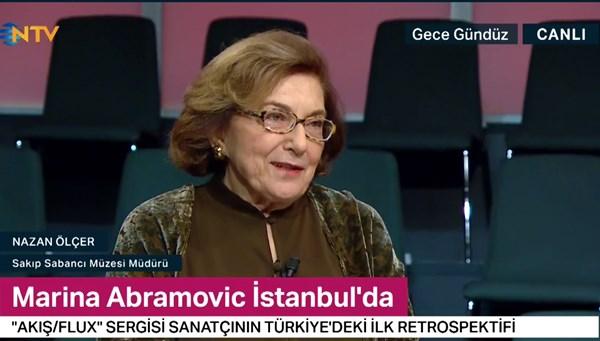 Marina Abramovic İstanbul'da (Gece Gündüz 13 Şubat 2020)