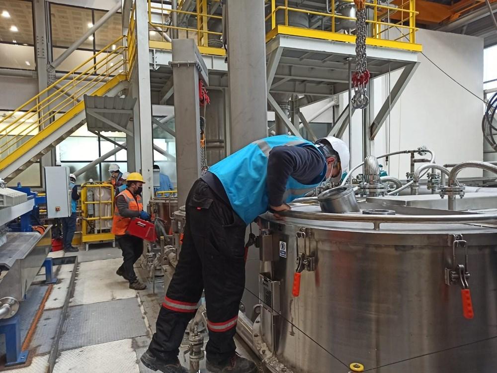 Türkiye'nin ilk lityum üretim tesisi resmen açıldı - 16