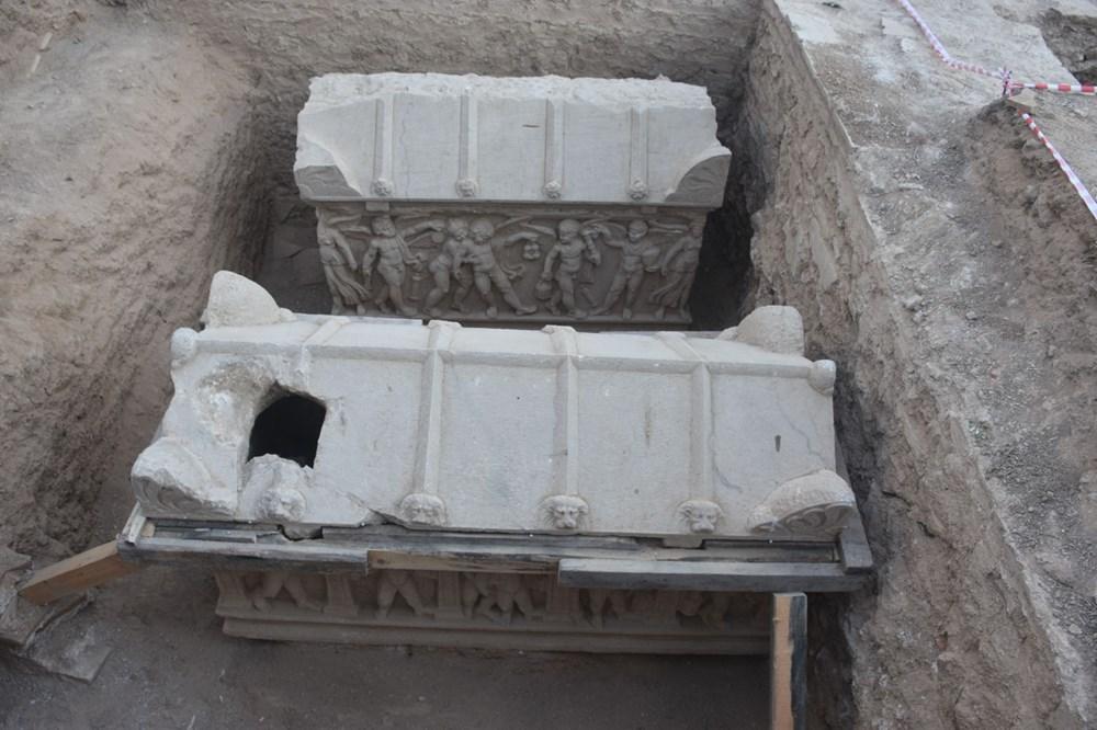İznik'te Hisardere kazılarında iki lahit bulundu: Mumyalanmış 3 iskelet - 11