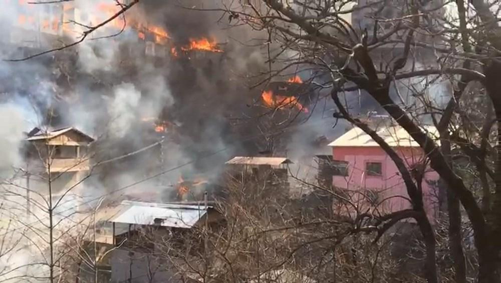 Artvin'deki yangın kontrol altında - 14