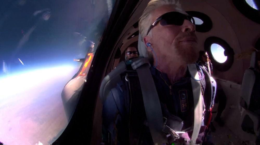 Tarihi uçuştan hemen önce:Elon Musk, Richard Branson'u ziyaret etti - 5