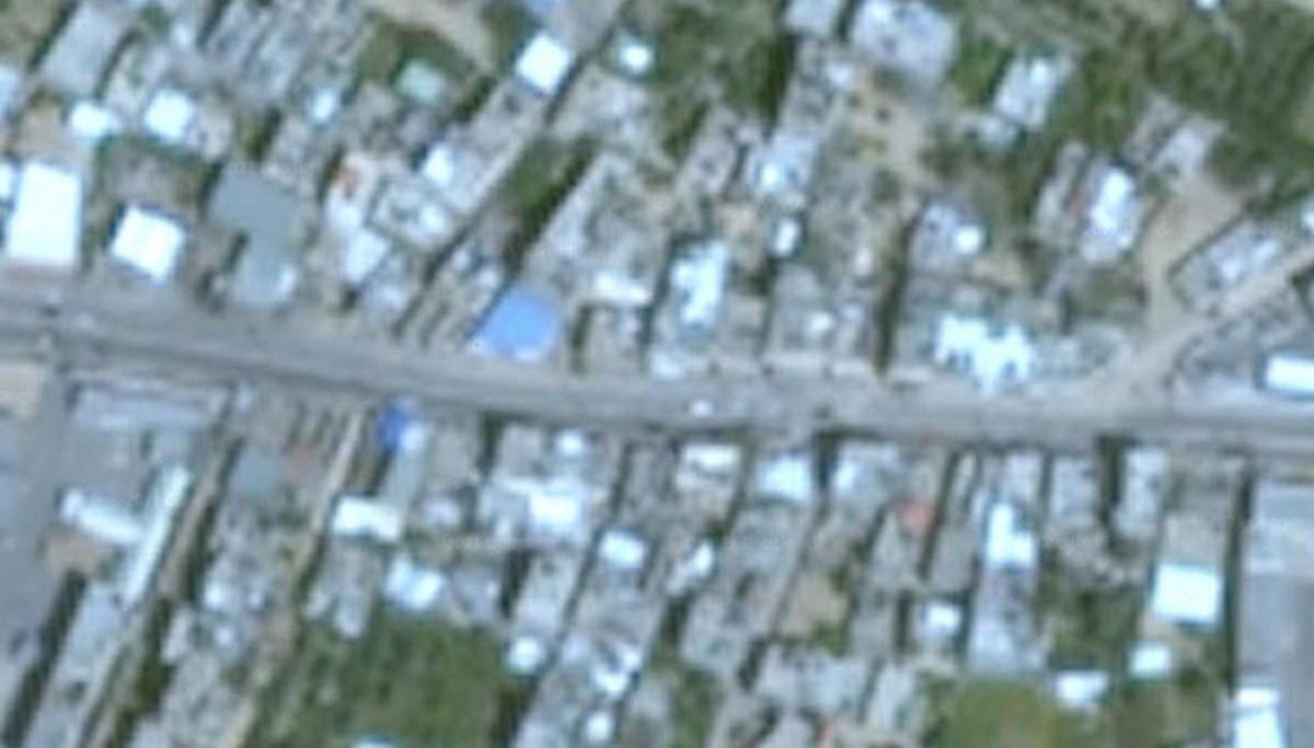 İsrail tarafından saldırıya uğrayan Gazze, Google Haritalar'da neden bulanık?