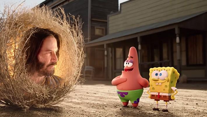SüngerBob KarePantolon: Firarda'dan Keanu Reeves'li fragman
