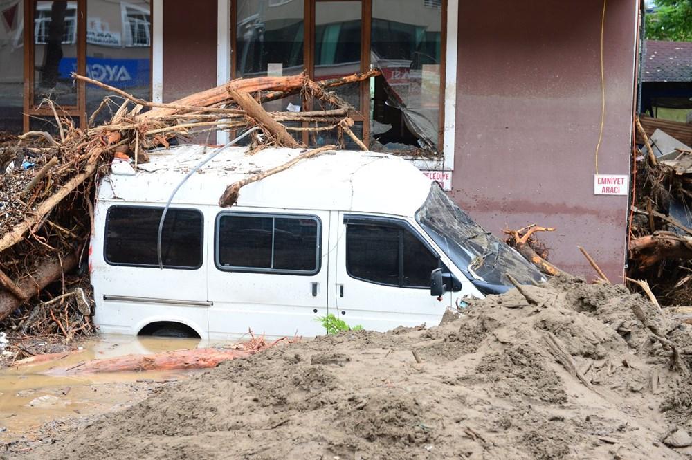 Giresun'u sel vurdu: 4 kişi hayatını kaybetti - 10