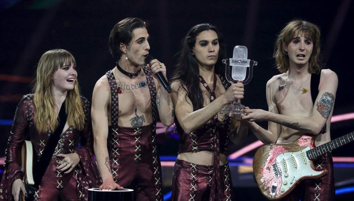 Eurovision birincisi Maneskin grubu için yeni suçlama